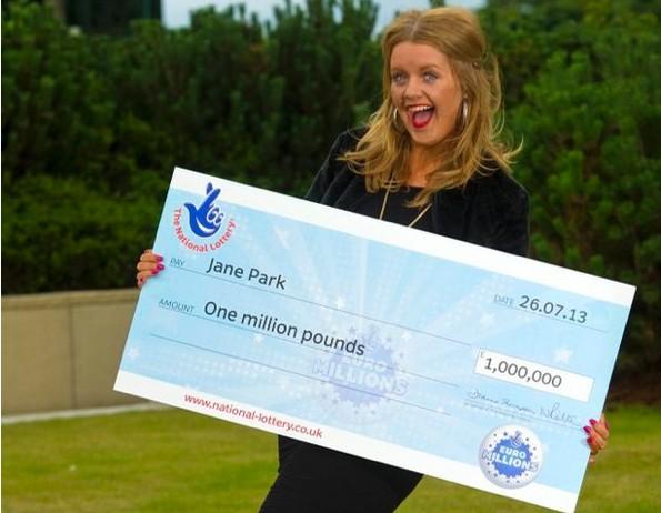 plus jeune gagnante de l'Euromillions