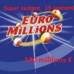 Date du Super Jackpot EuroMillions – J – 5 !!!